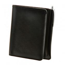 купить кожаный кошелек черного цвета