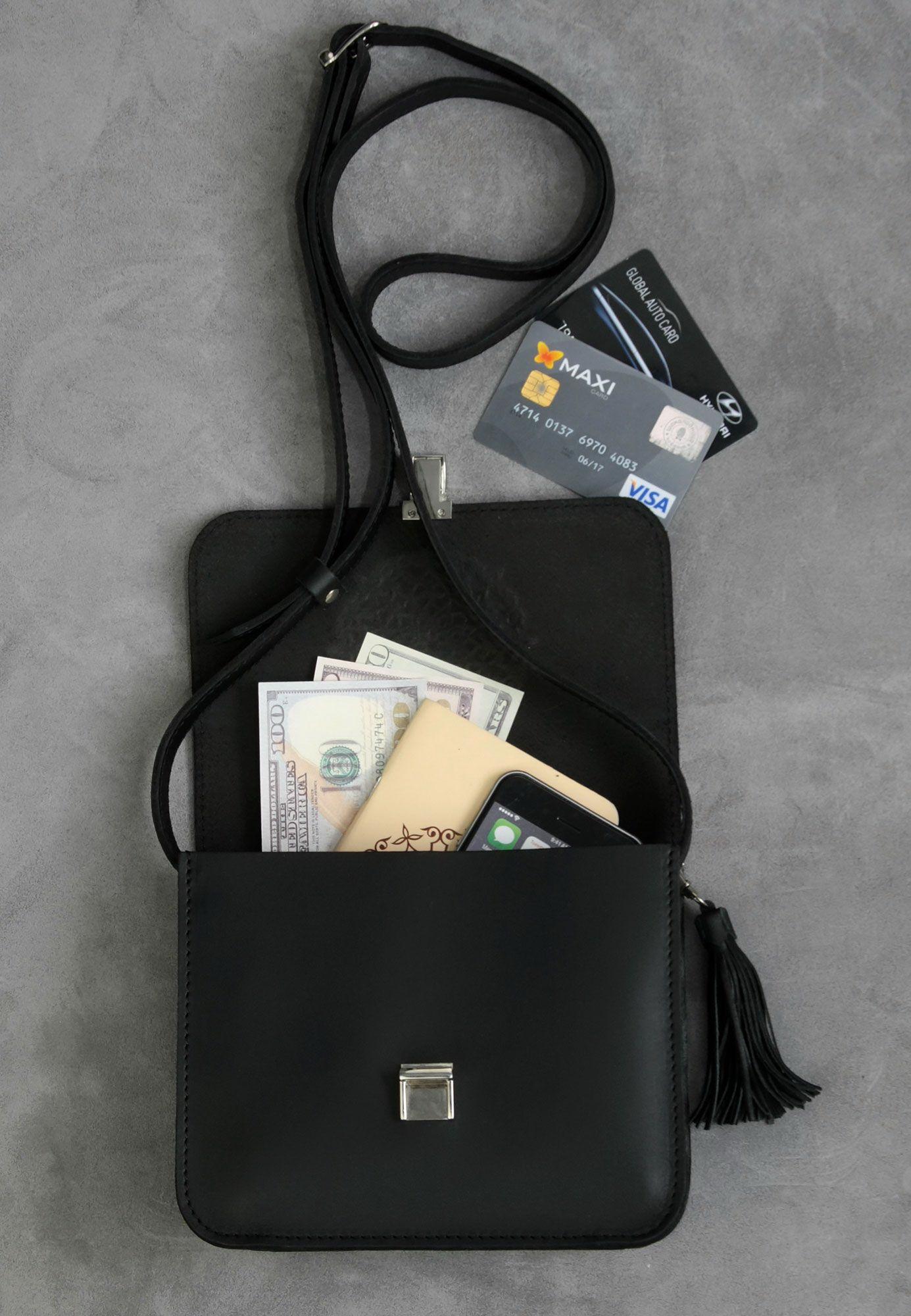 Бохо-сумка Лилу графит Фото 3