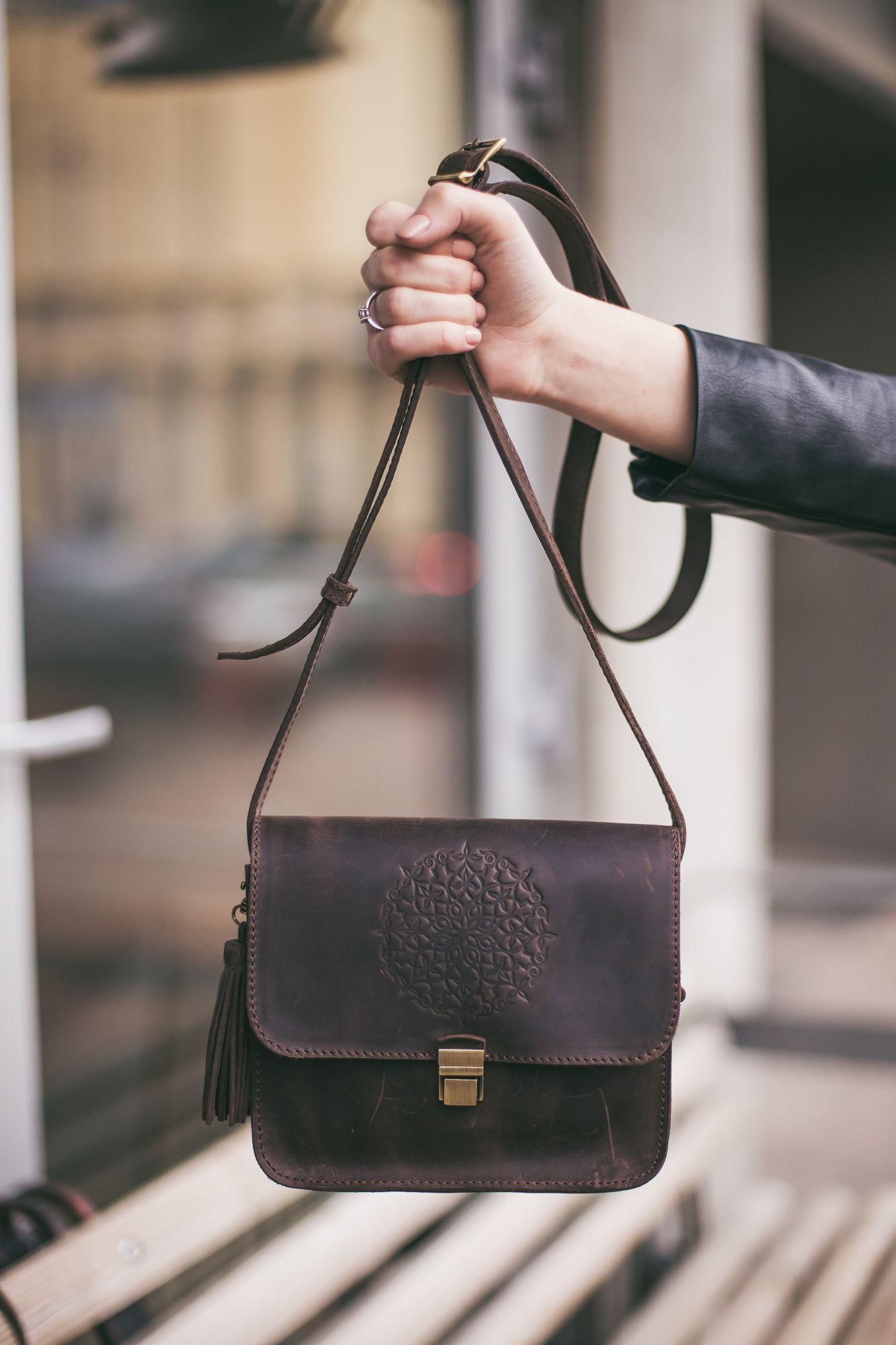 Бохо-сумка Лилу орех Фото 6