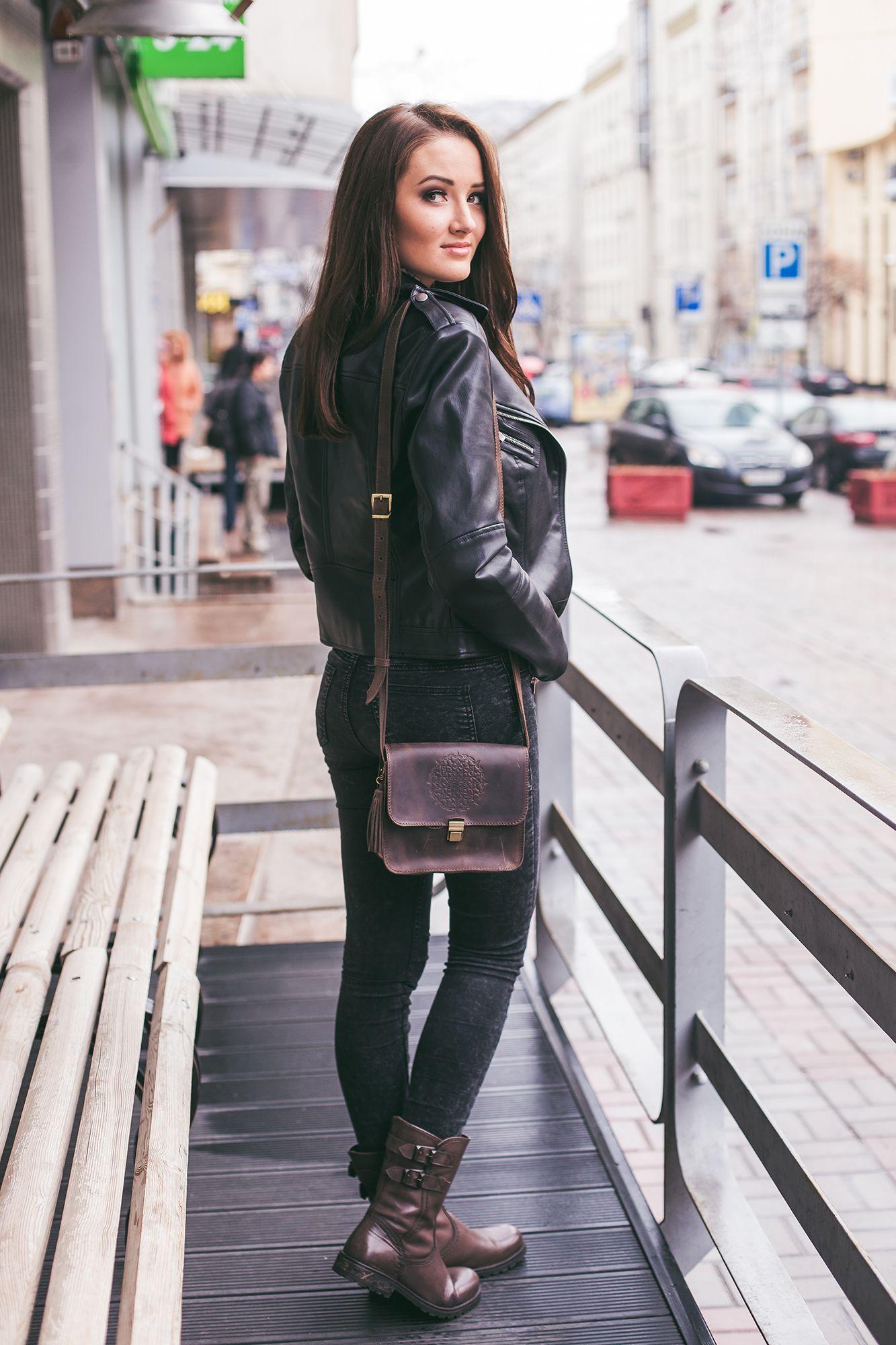 Бохо-сумка Лилу орех Фото 5