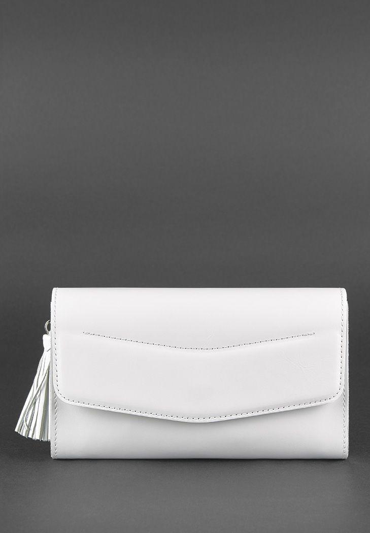 1beaefc1f693 Белая сумка Элис (BN-BAG-7-light) купить в Киеве, Украина - BlankNote