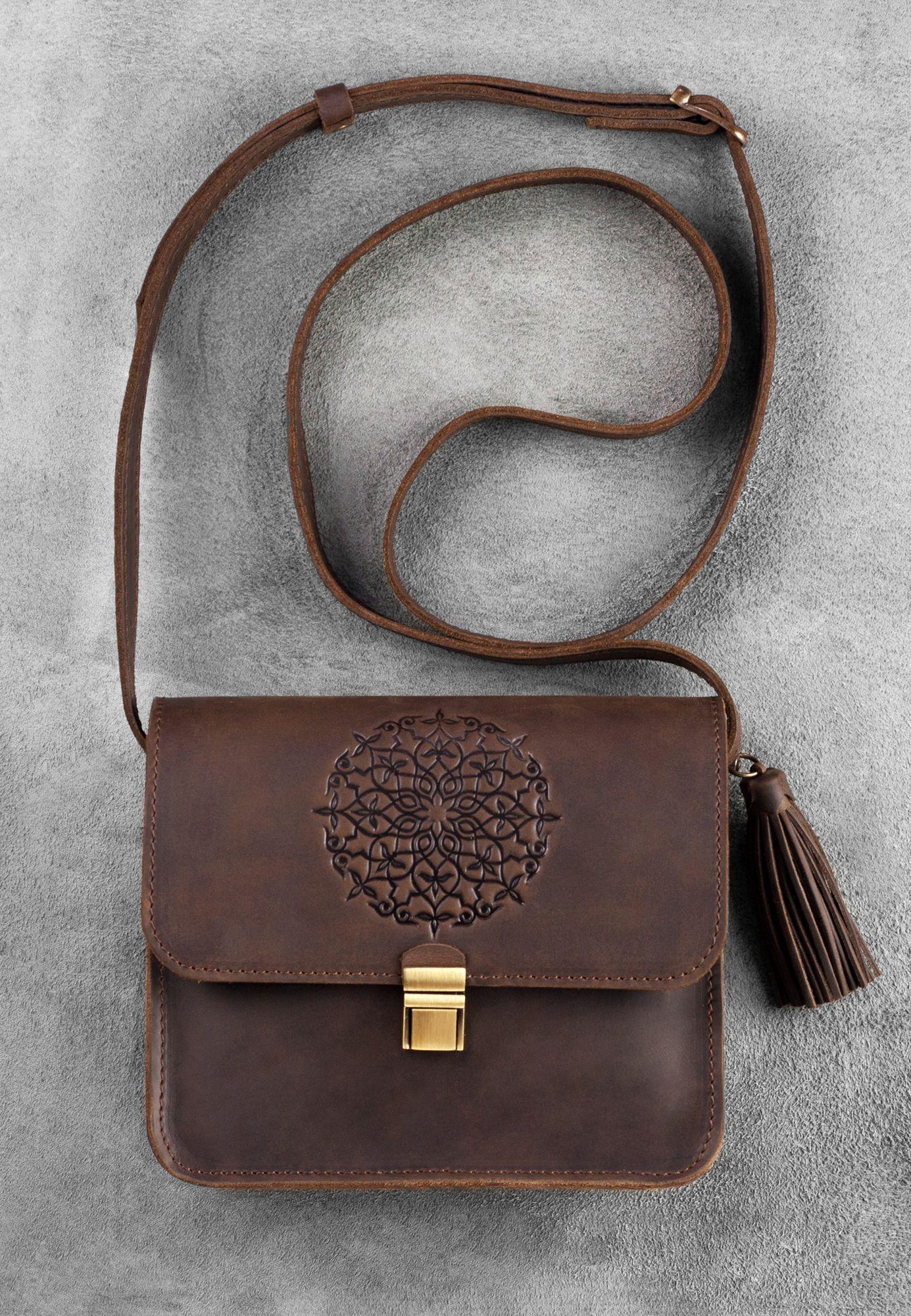 Бохо-сумка Лилу орех
