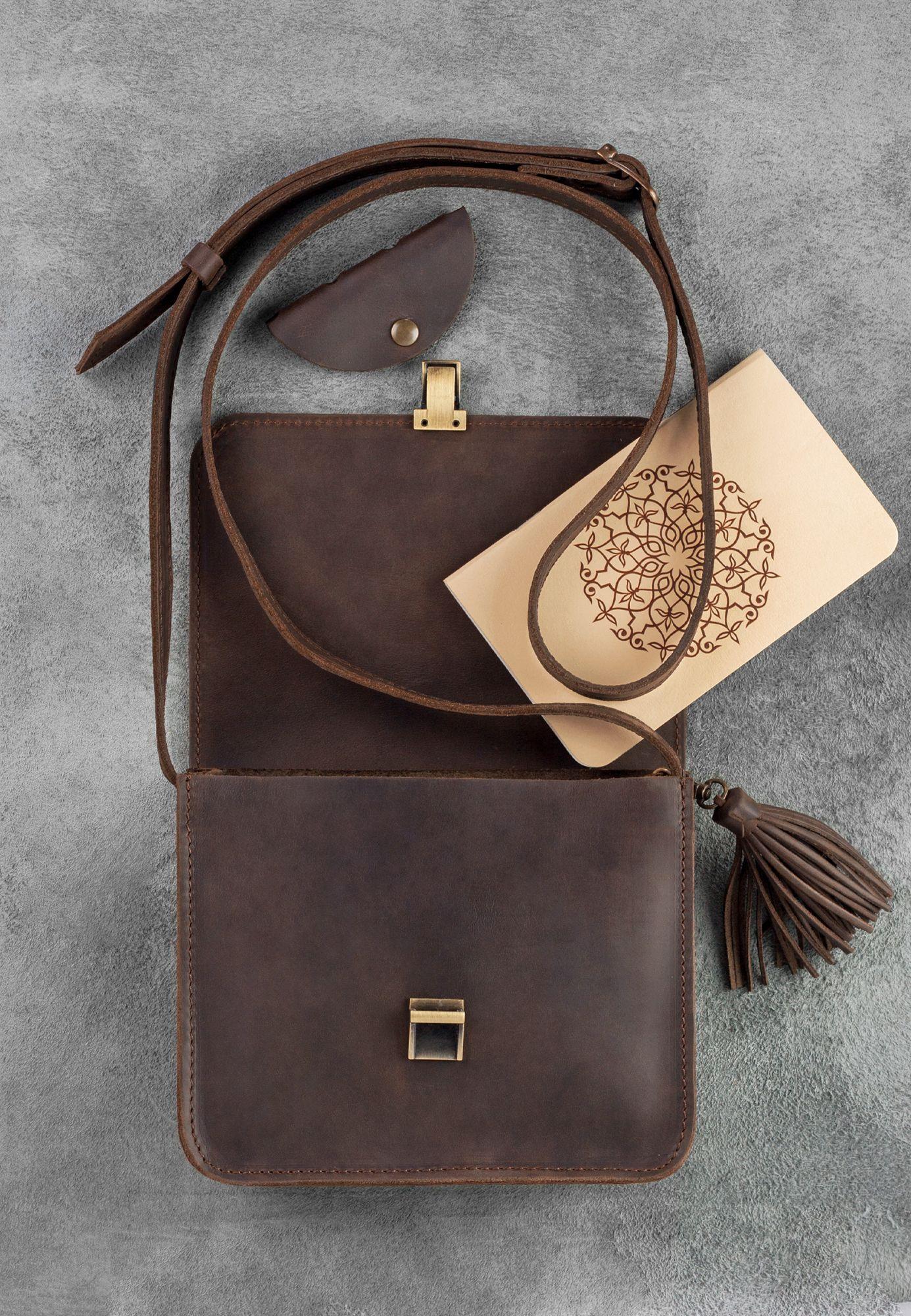 Бохо-сумка Лилу орех Фото 4