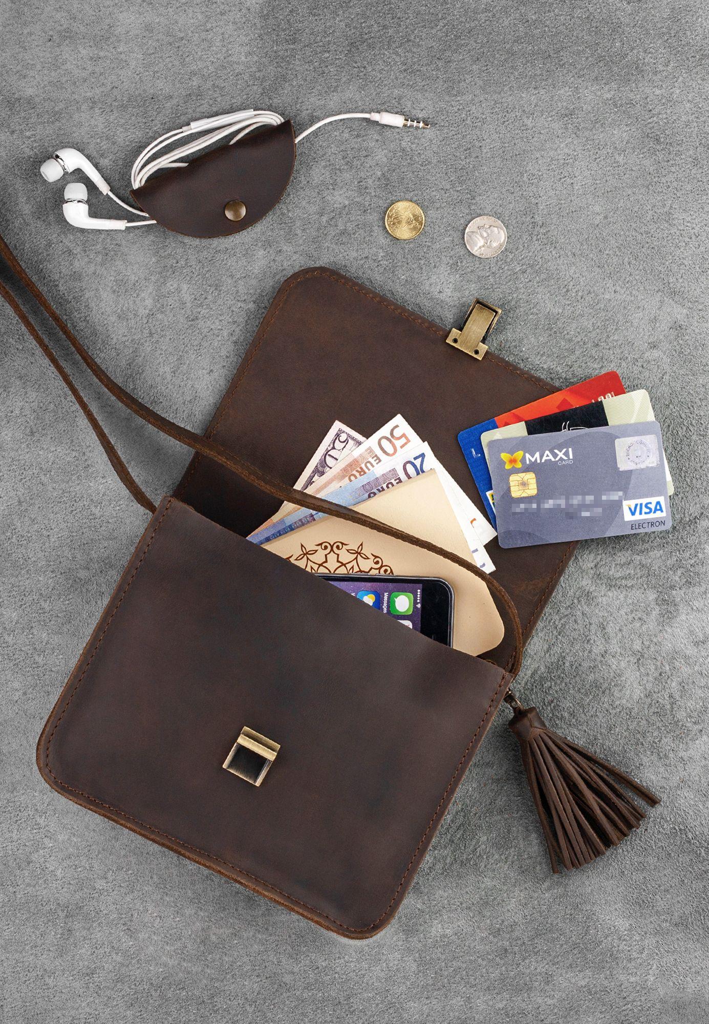Бохо-сумка Лилу орех Фото 3